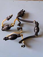 Б/у Ручной насос для подкачки дизельного топлива (груша перекачки) Renault Kangoo 2 Рено Кенго 1.5 DCI