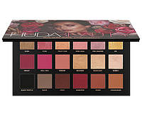Тени для век Huda Beauty – Rose Gold Remastered Palette (реплика)