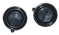 Мембрана для газової колонки Україна D=54mm*5mm (чорна,1 виступ (вушко))