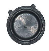 Мембрана для газовой колонки Украина D=73mm*5mm (черная,2 выступа (ушка))