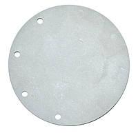 Мембрана для газового котла ВПГ D=90mm*2mm (біла,9 отворів)