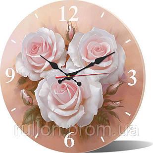 Часы настенные круглые YS-Art 33х33см (CL001)