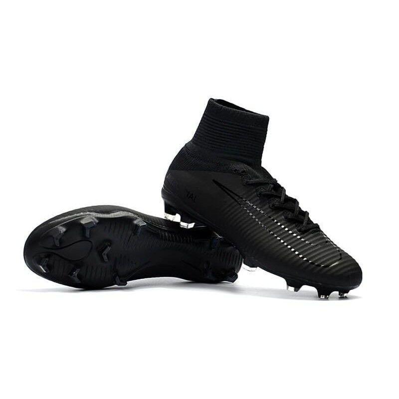 Бутсы Nike Mercurial Superfly V DF-FG Black cdea614fbe572