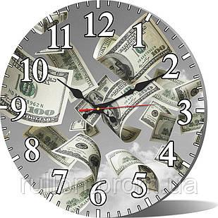 Часы настенные круглые YS-Art 33х33см (CL009)