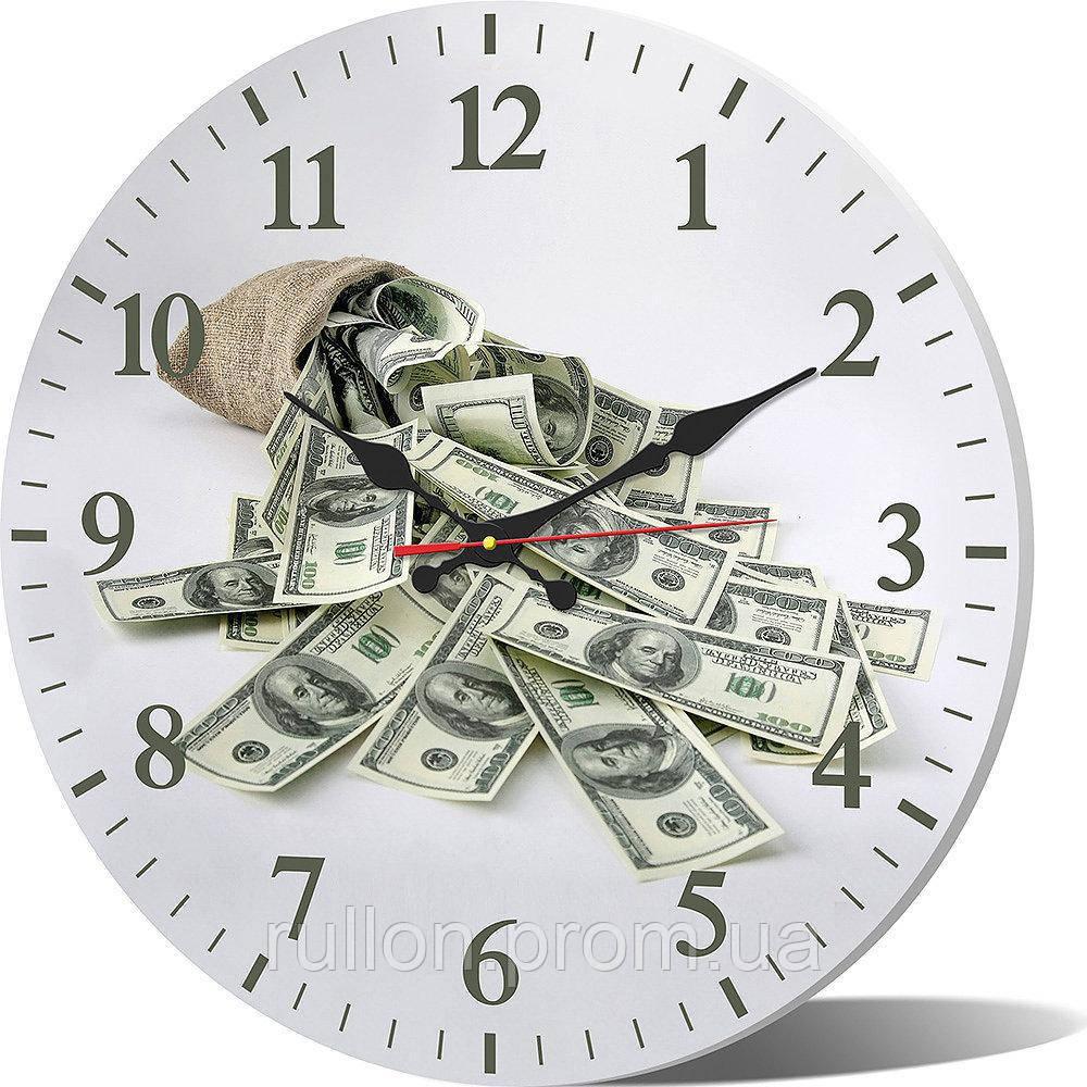 Часы настенные круглые YS-Art 33х33см (CL004)