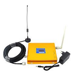 GSM DCS репитер усилитель мобильной связи 900 МГц 1800 МГц
