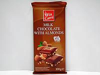 Молочный шоколад Fin Carre с миндалем 100г