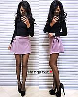 Женский костюм(юбка-шорты+гольф). Размер С,М. Разные цвета. (5056)
