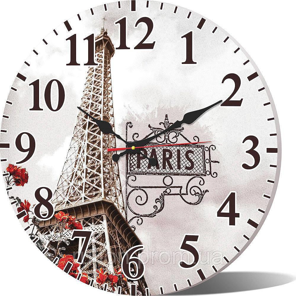 Часы настенные круглые YS-Art 33х33см (CL019)
