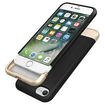 Чехол-накладка Spigen Style Armor для Apple iPhone 7 чёрный, фото 3