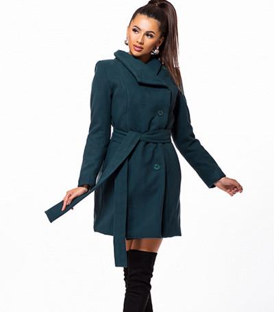 Кашемировое пальто с поясом 6 цветов 823227