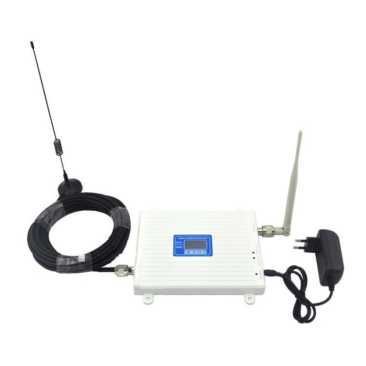 GSM DCS репитер усилитель мобильной связи 900 МГц 1800 МГц white