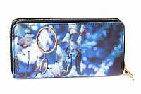 """(Цена за 5шт) Кошелек женский """"Ловец снов"""", материал: ПВХ, на молнии, 8 отделений под купюры, 8 под визитки, 1 отделение для монет, длина: 19.5 см,"""