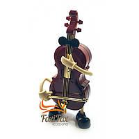 Іграшка музична Контрабас (Заводиться ключем,при грі танцює) (21,5х10х5 см)