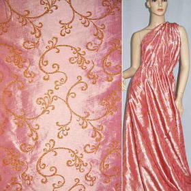 Тафта, ткань с отделкой