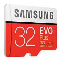 Карта памяти Samsung microSDHC EVO Plus 32GB UHS-I U3 Class 10 (с адаптером) (MB-MC32GA/RU)