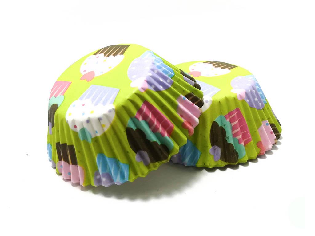 Бумажные тарталетки Праздничные 50/30 мм 25 шт