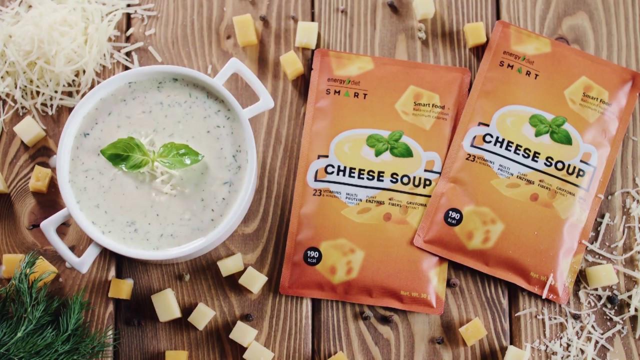 Energy Diet Smart «Сырный суп» Сбалансированное питание