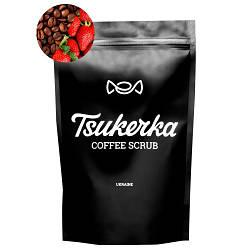 Кофейный скраб Tsukerka кофе/клубника