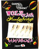 Вольфрамовая мормышка Carpe Diem Семечка кр.№14 5шт Silver  3,5mm 0,6g 008-035-1
