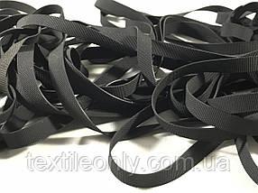 Резинка латексная для купальников 8 мм черная