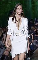Костюм с платьем белый бренд LUX копия, фото 1