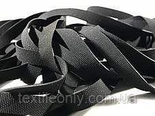 Резинка латексная для купальников 8 мм черная, фото 2