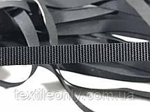 Резинка латексная для купальников 8 мм черная, фото 3