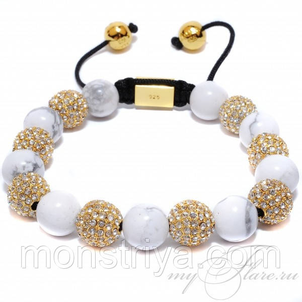Браслет Shamballa Nialaya Hollywood, Сваровски, Киев