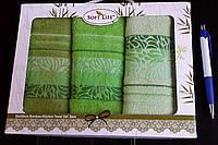 Кухонные салфетки Бамбук Soft life 30*50 (3шт)