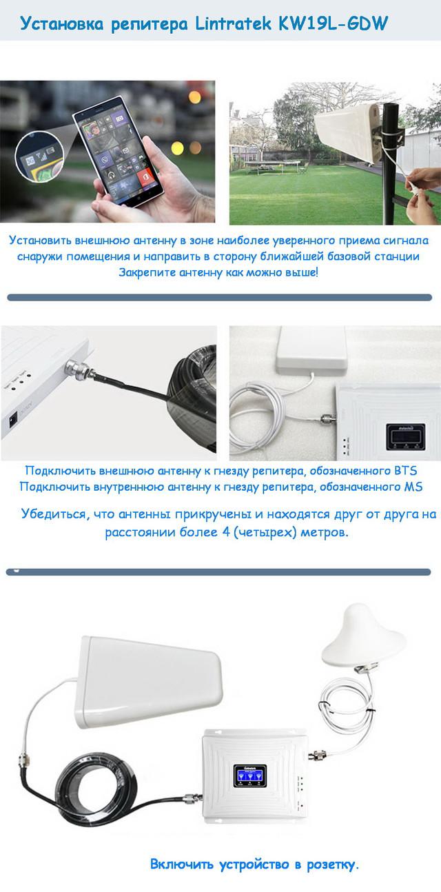 Установка Lintratek KW19L-GDW