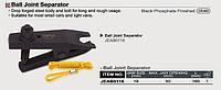 Съёмник р/тяг и шаровых опор 19 мм универсальный,Toptul JEAB0116