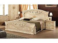 Ліжко (без ламелей) 1600 Рома клен (2пач.) ТММЕБЕЛЬ-СЕРВИС