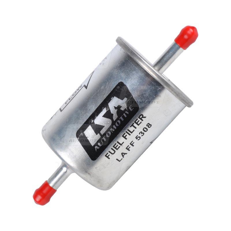 Фильтр топливный на Peugeot 106, 205, 306, 309 LSA LA FF 5308, аналог MANN WK 613