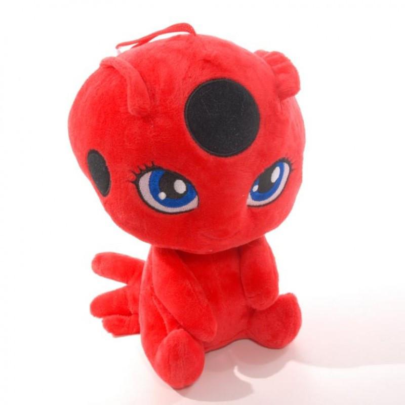 """Кукла Мягкая игрушка с мультфильма Miraculous Ladybug""""Леди Баг и Супер-Кот"""",25076-30"""