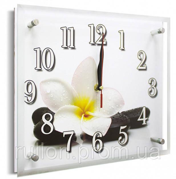 Часы настенные с картиной под стеклом YS-Art 25х30см (PR020)