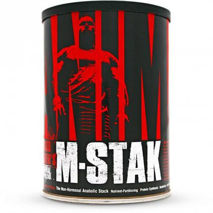 Препарат для підвищення тестостерону Universal Nutrition Animal M-Stak 21 packs, фото 2