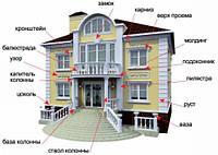 Оформление фасадов домов,готовый к установке декор
