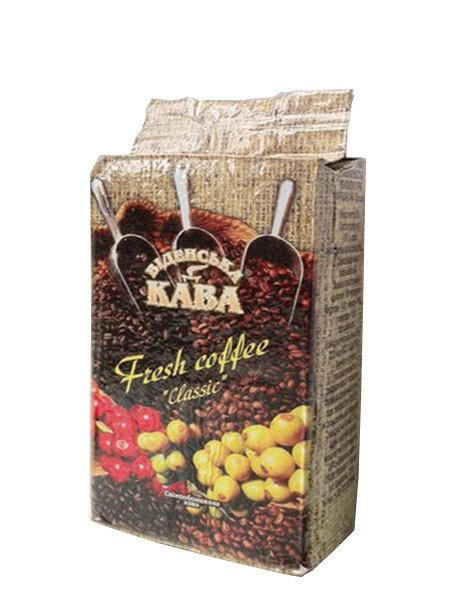 Молотый кофе Віденська кава Espresso Fresh 250 гр.