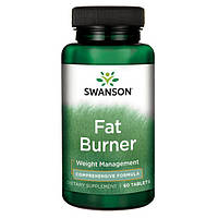 Fat Burner, Swanson, 60 Tablets \ Фат Бернер - сжигатель избыточного жира
