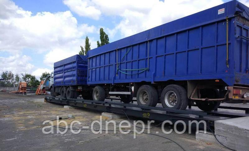 Автомобильные весы 22 метра 80 тонн ВА22-80