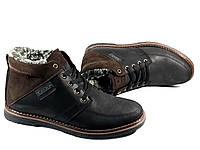 87fda6542228 Мужские ботинки Trike 142 чёрные, зима, натуральная кожа, натуральная  шерсть 41