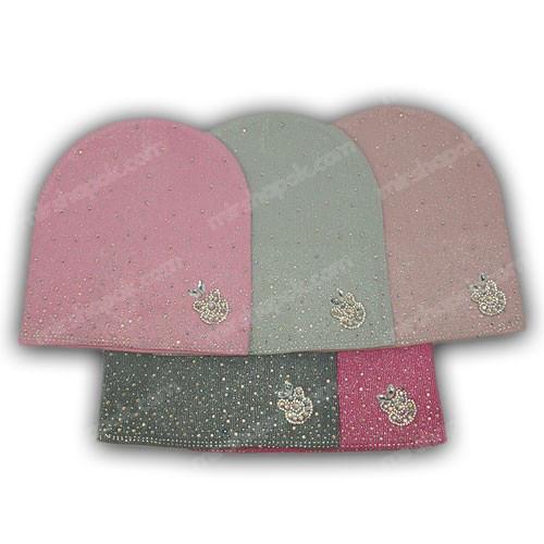 шапка в'язана з люрексом