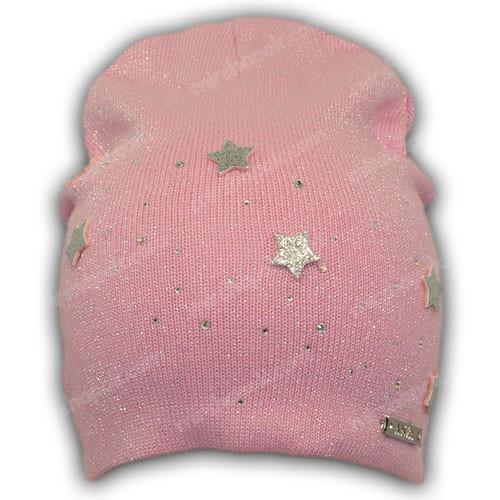 шапка вязаная с люрексом