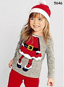 """Кофта """"Снегурочка"""" с шапочкой для девочки. 80, 90, 100, 120 см"""