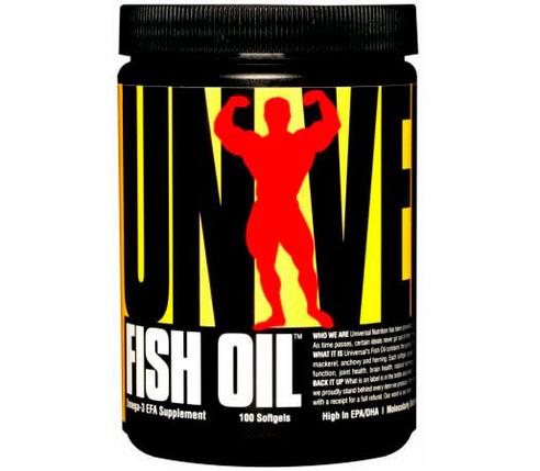 Жирні кислоти Universal Nutrition Fish Oil 100 Softgels, фото 2