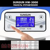 Фильтр внешний SunSun HW-3000, UV 9 Вт, 3000 л/ч, до 1000 л, фото 3