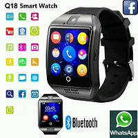 Смарт часы (Smart Watch) Умные часы Q18, фото 1