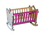 Игрушка Кровать-люлька 2 для малыша кукол Барби, Братц, Монстер Хай