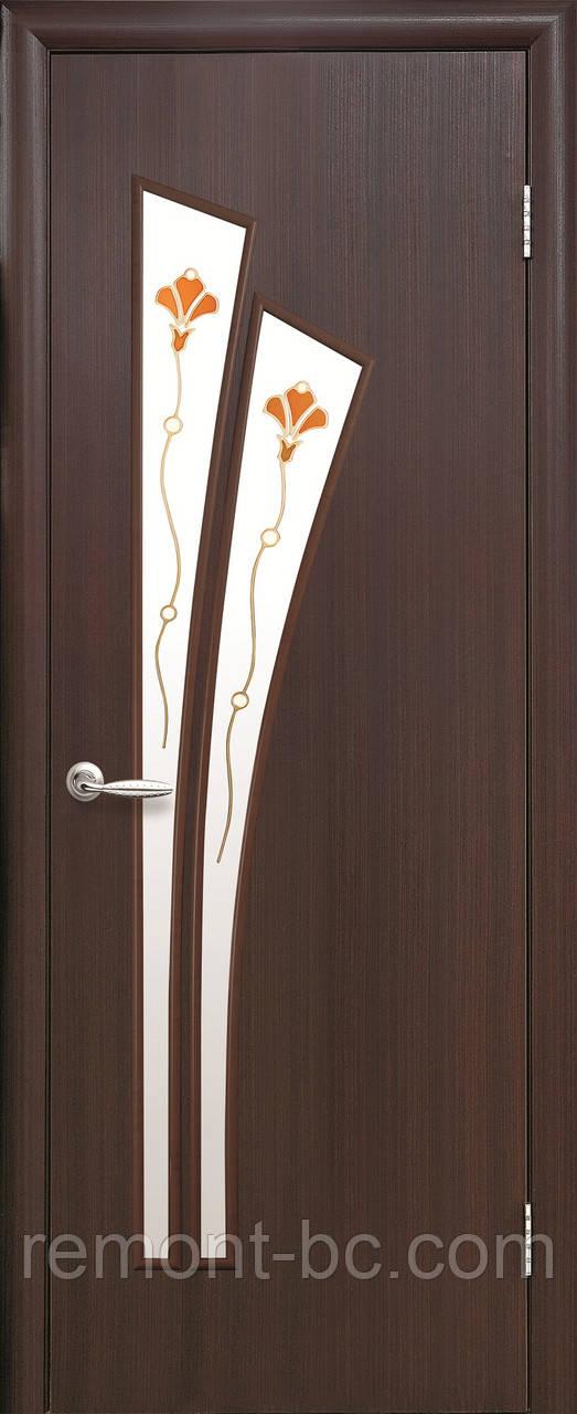 """Двері міжкімнатні """"Лілія"""" ПВХ"""